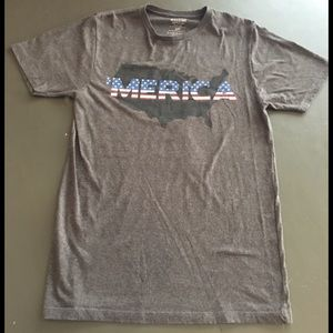 076ec72d71 Mossimo Supply Co. Shirts - American Flag Men's T Shirt Fourth of July  Mossimo